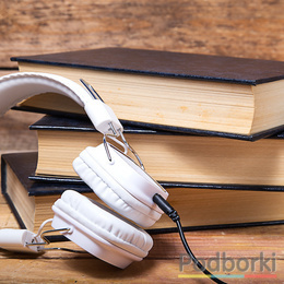 Main p40b books and headphones